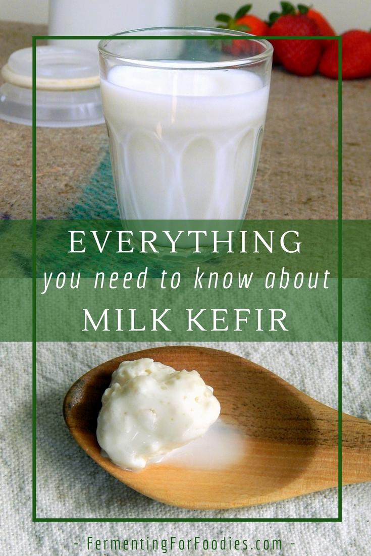 Easy Homemade Milk Kefir