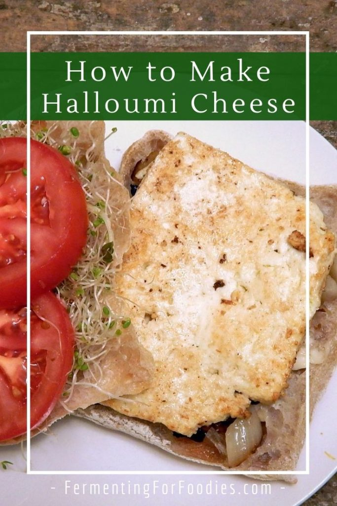 How to make halloumi cheese at home with this simple recipe