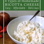 How to use leftover whey to make ricotta cheese