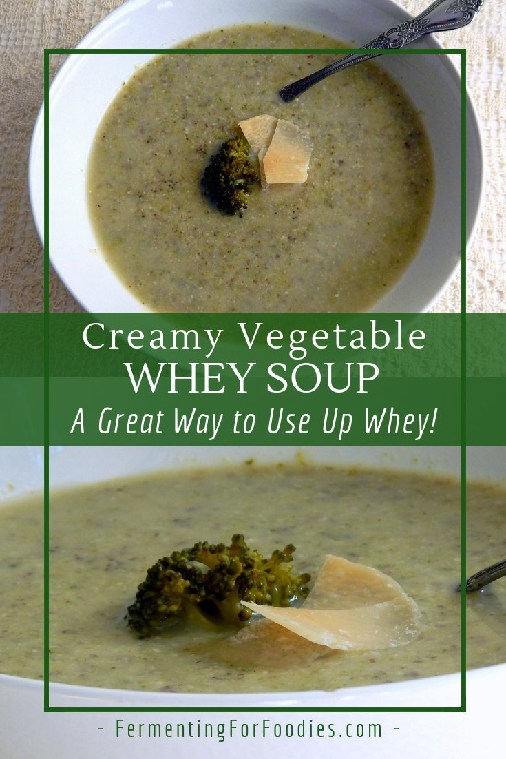 How to make whey soup. Lots of different flavours, broccoli, asparagus, cauliflower, leek and potato.