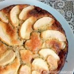 Torta di mele is an Italian apple cake made with almonds and honey