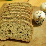 Slices of gluten free bread