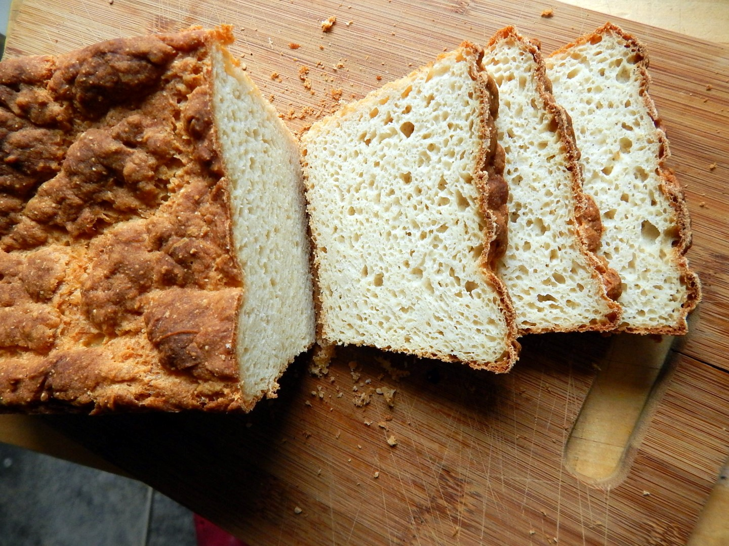 Gluten free bread with white flours