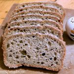 Amazing whole grain gluten free sourdough bread - perfect for toast and sandwiches