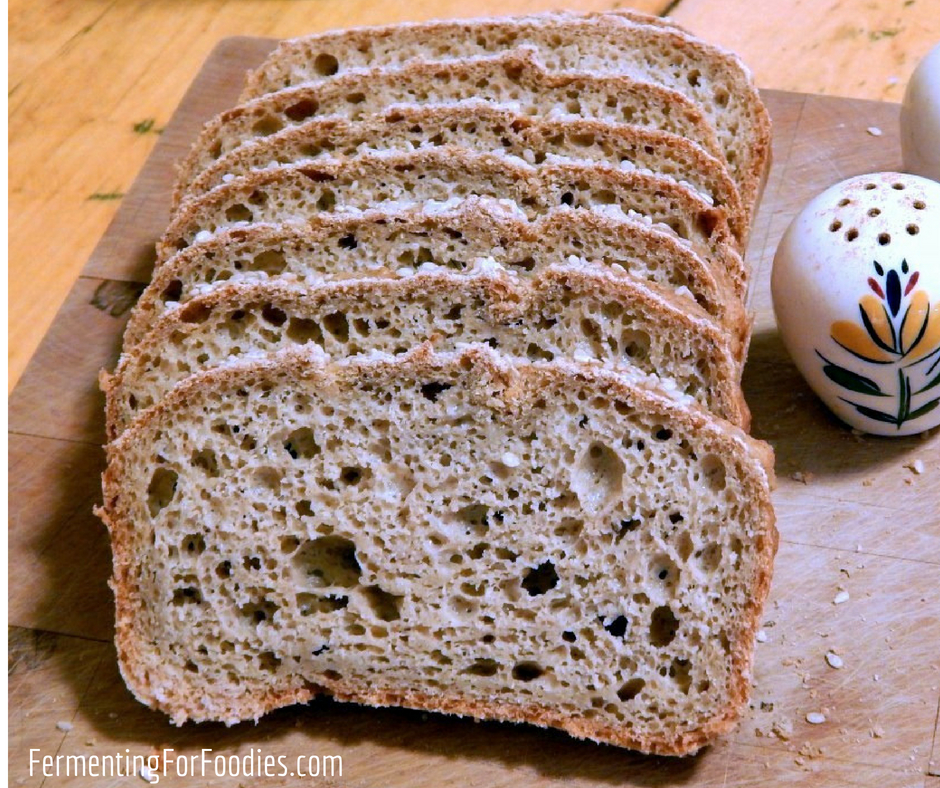 Amazing Gluten Free Sourdough Bread - Fermenting for Foodies