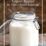 How to make yogurt using grocery store yogurt as a culture