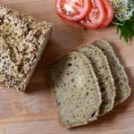 Looking for the best gluten-free bread. This loaf uses sourdough starter and psyllium husk for a soft yet strong loaf