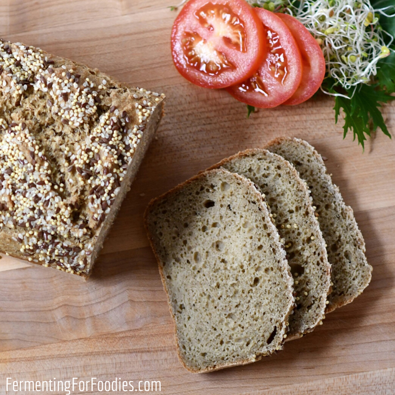 Amazing gluten-free sourdough bread