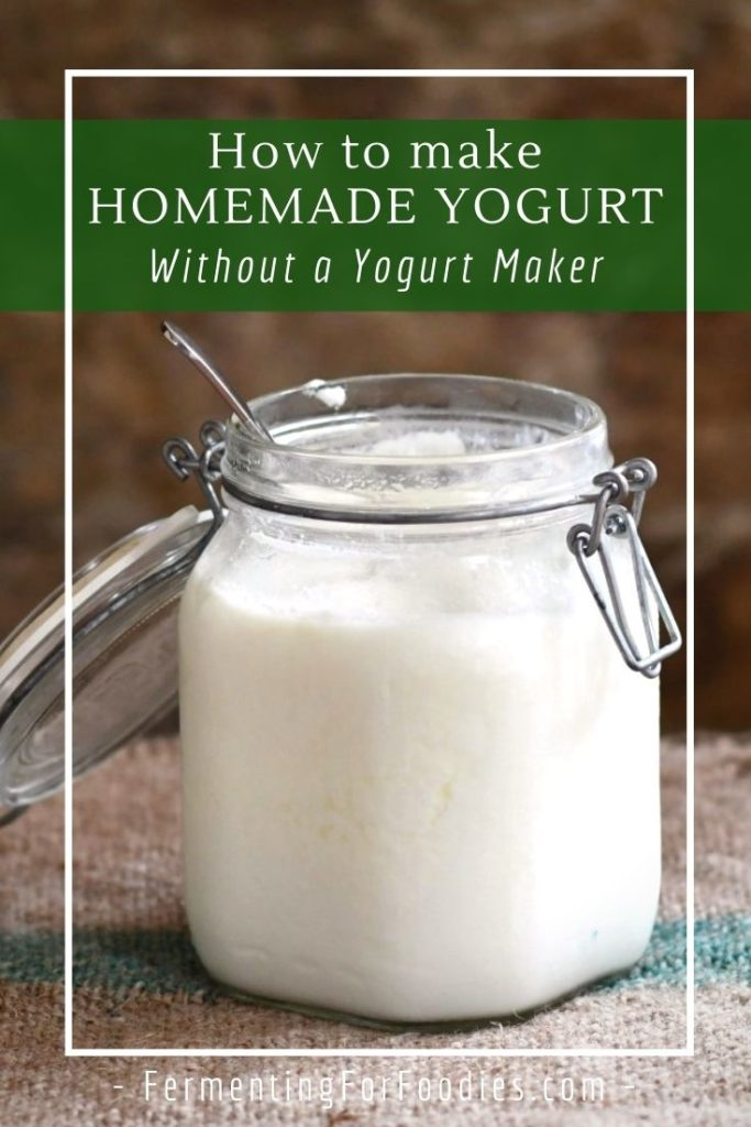 How to keep homemade yogurt warm in your oven, a cooler or a slow cooker
