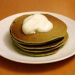 Savoury Green Pancakes