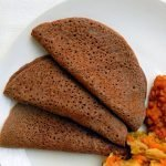 Traditional sourdough injera - A gluten free Ethiopian flatbread