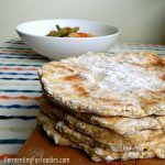 Quick and delicious gluten free flatbread - pita, naan, pizza, farls