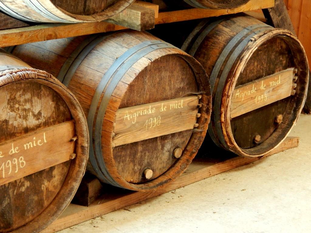 Barrels of chouchen.