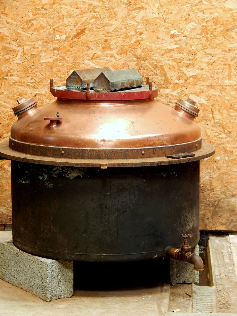 Calvados distillery.