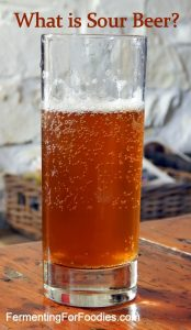 Learn what sour beer is from a brewer in South Wales.