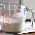 How to make a sourdough starter from scratch and why buying a starter is a waste of money.
