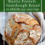 Pain de Compagne Traditional French sourdough bread