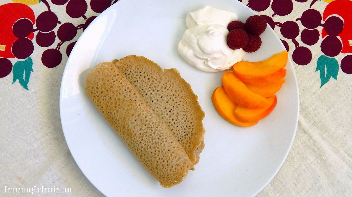 100 Buckwheat Crepes The Taste Of Brittany Fermenting For Foodies