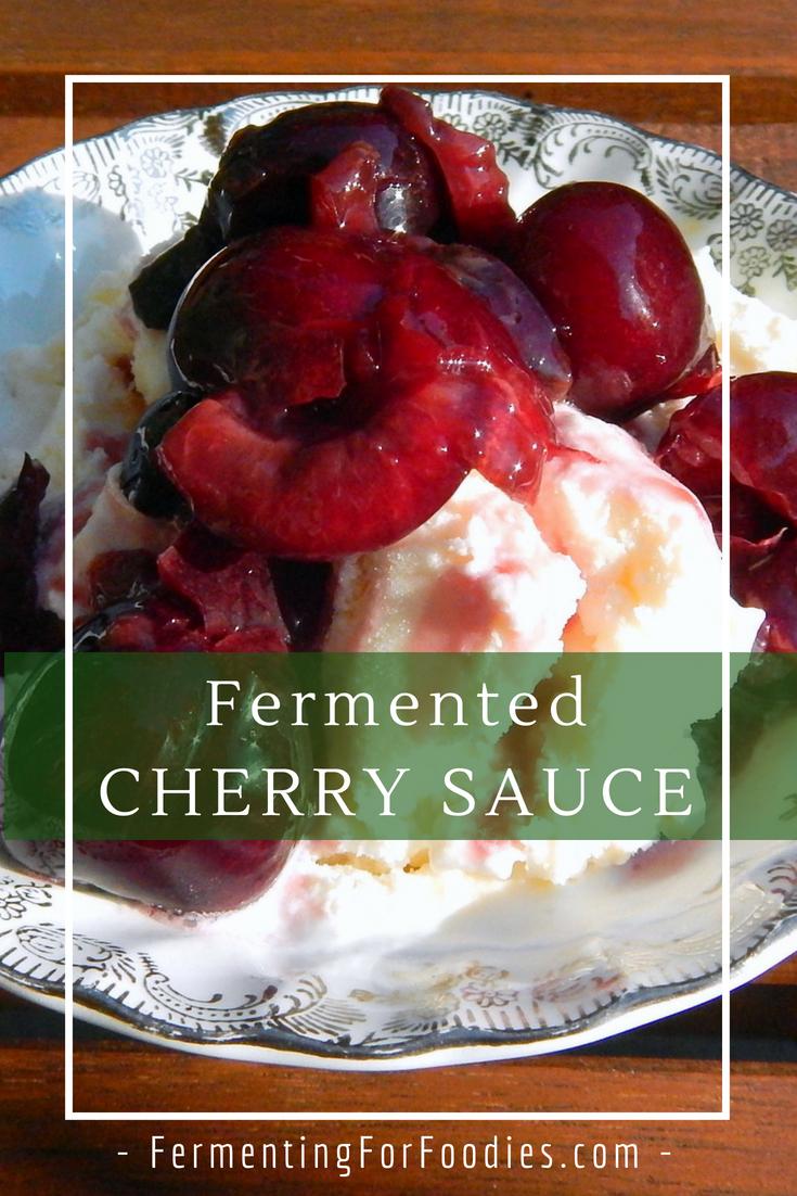 Easy, delicious, probiotic berry sauce