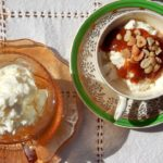 Homemade healthy and probiotic ice cream, refined sugar-free!