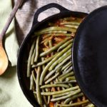 Greek green beans for a delicious gluten-free and vegetarian meal