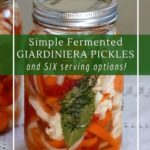 How to make fermented giardiniera and 7 ways to serve it.
