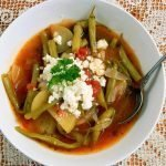 Fasolakia Greek green bean stew