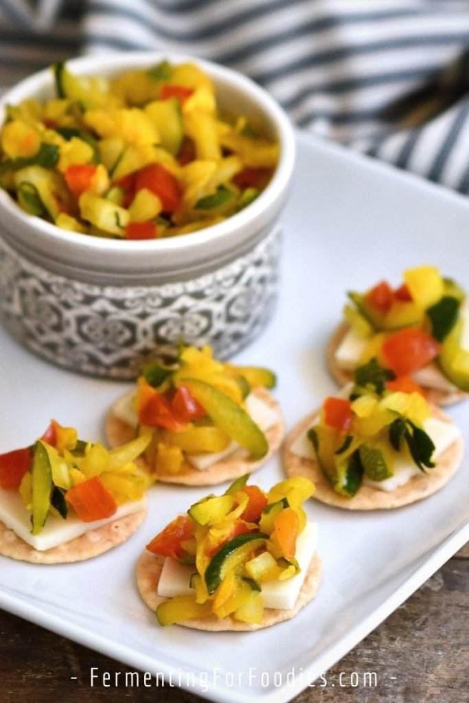 Why zucchini relish is a zero-waste, no-cook option for garden zucchinis