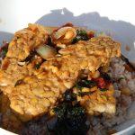 Homemade Soybean Tempeh