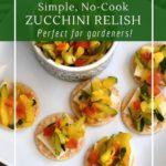 How to make wild fermented zucchini relish.