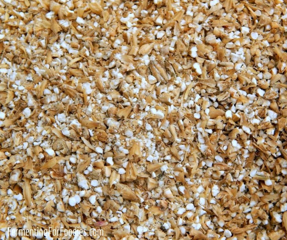 Homebrewing ingredients - malt extract, malted grain and liquid malt