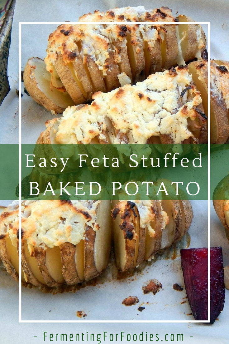 Simple and fancy baked potato dish