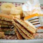 Sourdough pancakes are a delicious and easy way to use up extra sourdough starter.