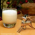 Quick Probiotic Eggnog - Sugar-free and delicious