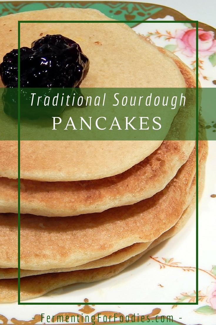 Sourdough pancake, vegan, sugar-free