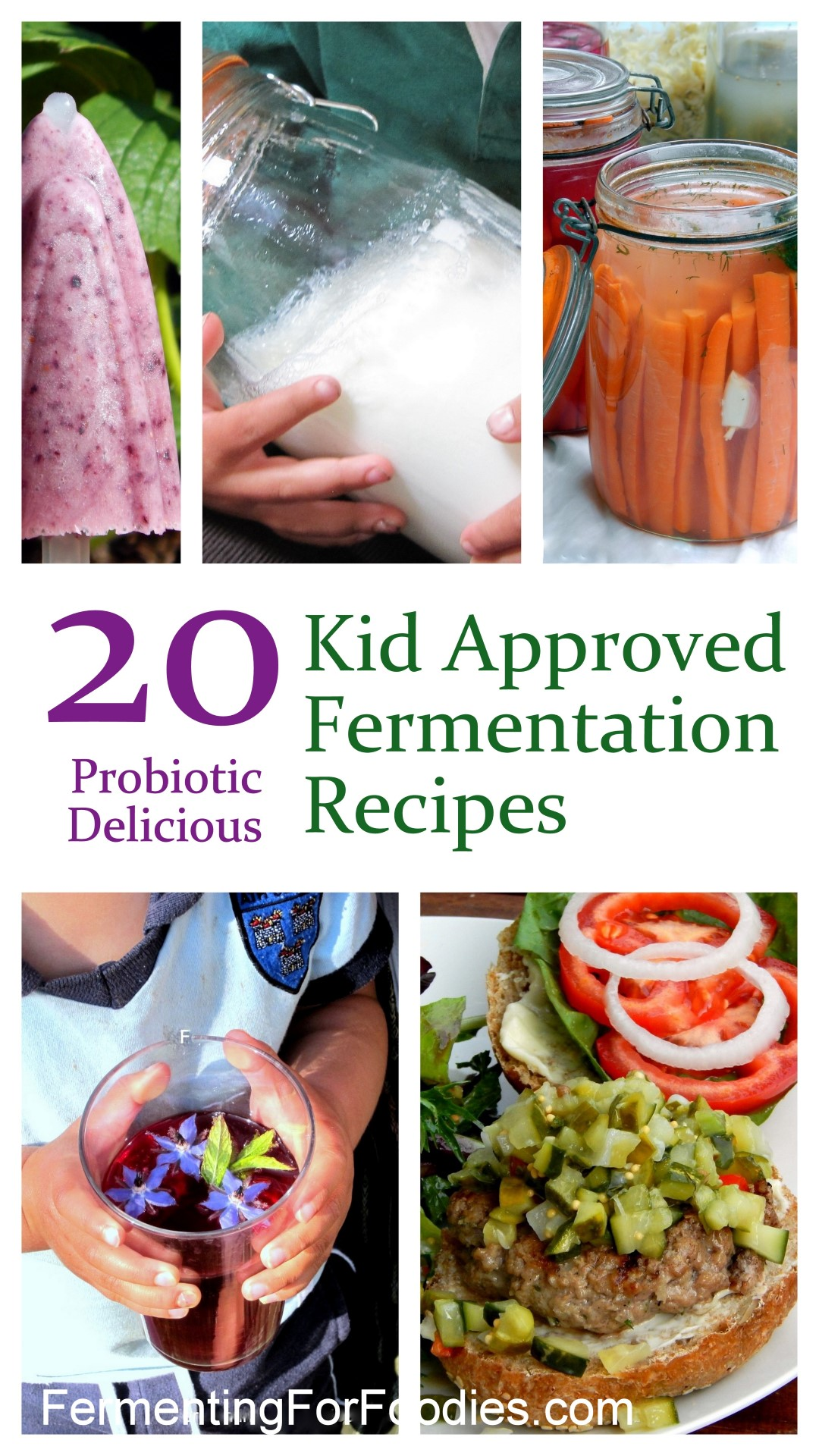 How to get a picky eater to eat fermented foods. Kid-friendly Fermented Recipes