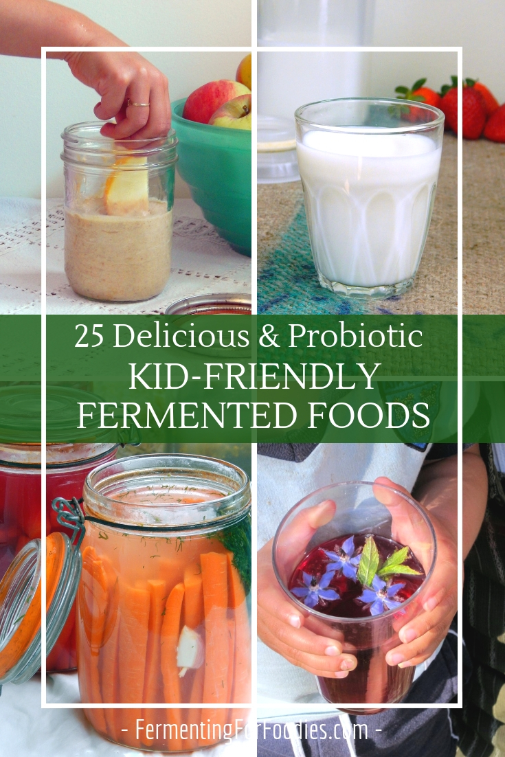 25 Delicious and probiotic kid-friendly fermented foods and recipes