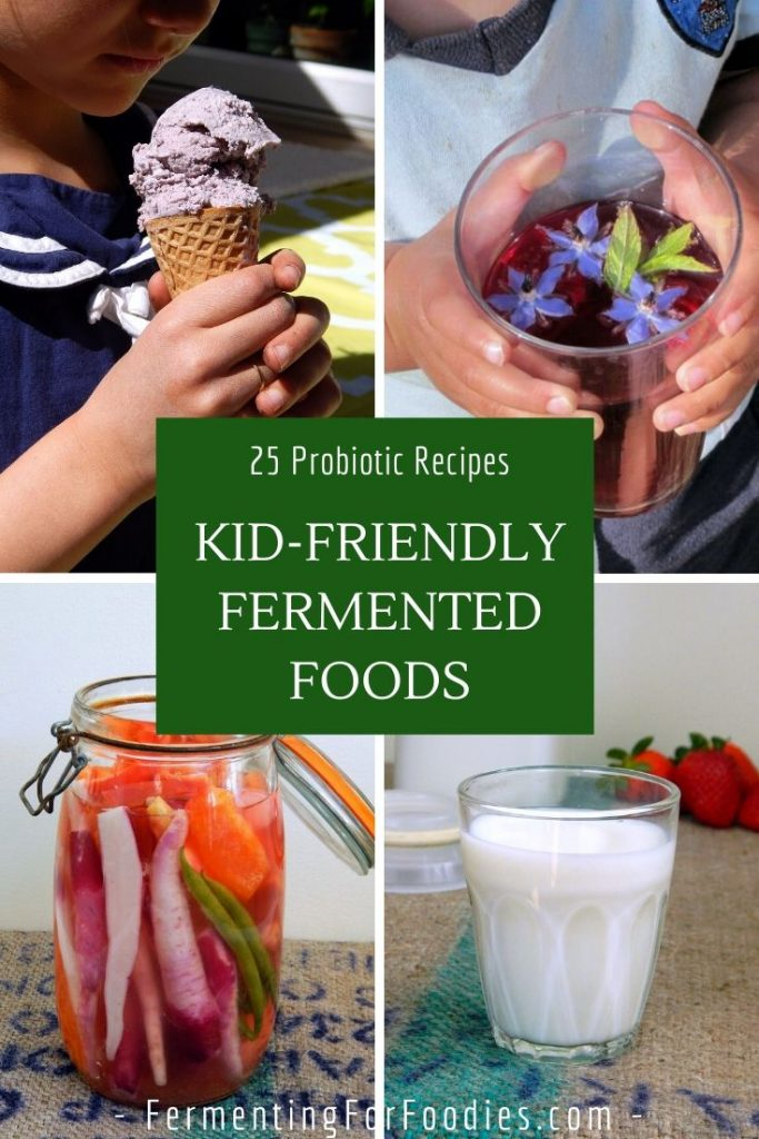 25 Probiotic foods that your kids will love. Something for even the pickiest eaters.