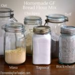 How to make your own gluten-free bread flour mix from your favourite flours