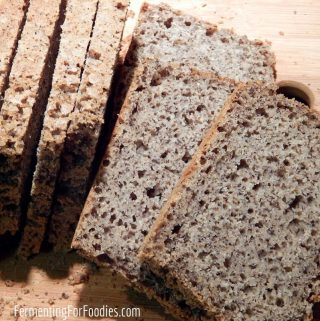 Gluten free bread flour mix for a perfect loaf every time