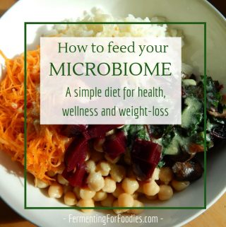 A simple microbiome diet for good health.