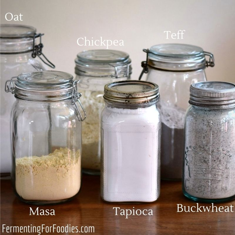 Why a balance of protein and starches matter for a homemade gluten-free bread flour mix