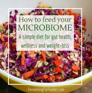 Improve your immune system, increased energy, better sleep, and weight-loss with a healthy microbiome diet