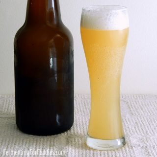 Sourdough kvass is a delicious, lightly alcoholic beverage that only takes 1 week to make.