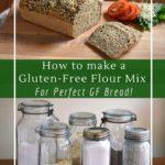 Make a gluten-free bread flour out of oat, buckwheat, rice, sorghum or quinoa