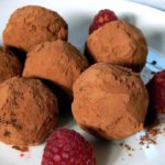 Simple handmade probiotic truffles with cultured cream and your choice of sweetener!