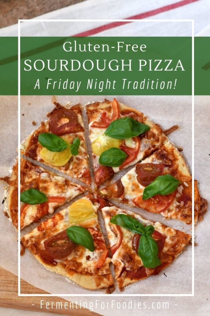 Why sourdough starter is important for gluten-free pizza