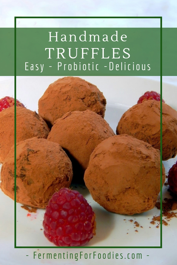 Probiotic Chocolate Truffles - Kefir Cultured and Sugar-free