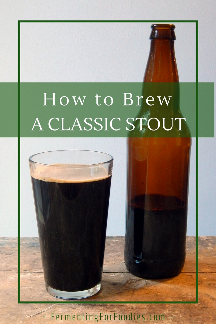 Brew a Stout and Flavour it with Fruit, Chocolate or Coffee