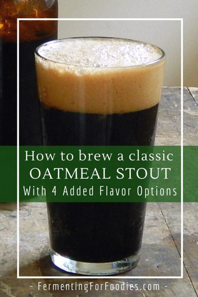 How to brew a gingerbread or chai spiced oatmeal stout